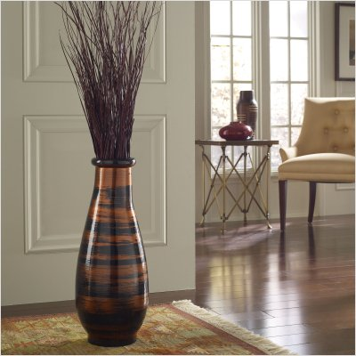 Small Copperworks Floor Vase