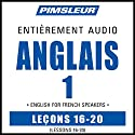 ESL French Phase 1, Unit 16-20: Learn to Speak and Understand English as a Second Language with Pimsleur Language Programs | Livre audio Auteur(s) :  Pimsleur Narrateur(s) :  Pimsleur