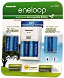 Panasonic Eneloop Kit 10 AA 4 AAA batteries & Charger (906576)