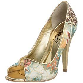 Endless.com: Carlos By Carlos Santana Women's 037Sn37 Pump: Pumps :  peep-toe fabric carlos pump