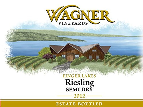 2012 Wagner Vineyards Semi-Dry Riesling 750 Ml