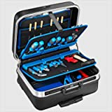 Cases By Source TUC-11404-P Heavy Duty Tool Case with Pocket Pallets, Pull Handle, Wheels