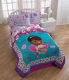 Disney Doc MCStuffins Reversible Twin/Full Comforter