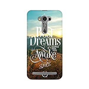 Premium Anti Slip Designer Printed Hard Matte Back Case Cover For Asus Zenfone 2 Laser ZE550KL