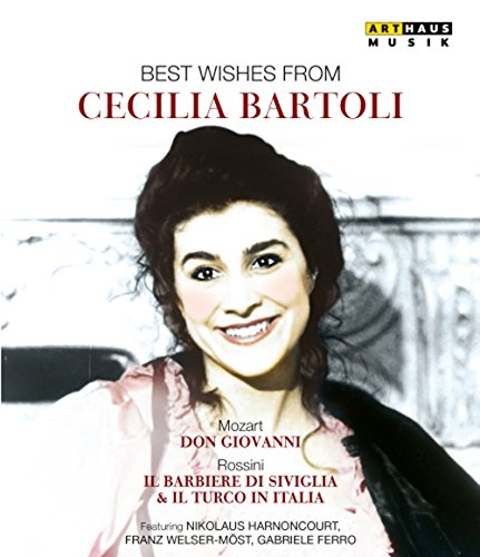 Rossini - Il Barbiere Di Siviglia, Il Turco In Italia - Best Wishes From Cecilia Bartoli (3 Dvd)