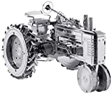 Electronictechcrafts® Fascinations Metal Earth 3D Laser Cut Model - Farm Tractor
