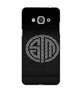 SAMSUNG GALAXY J3 PRO TEXT Back Cover by PRINTSWAG