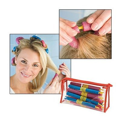 20 Piece Clip System Bendy Curls - Salon Curls Made Easy!