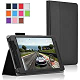 Nvidia Shield Tablet Case - Exact NVIDIA SHIELD Tablet Case [PRO Series] - Professional Folio Case for NVIDIA SHIELD Tablet (8-inch 2014 Model) Black