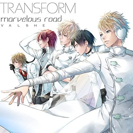 TRANSFORM/marvelous road (初回限定盤B)