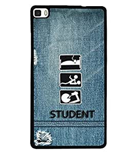 PRINTSWAG STUDENT Designer Back Cover Case for HUAWEI P8