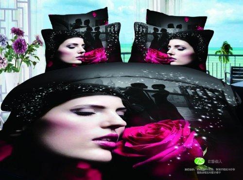 Pink Leopard Print Bedding front-320244
