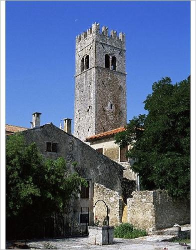Photographic Print Of St. Stephen S Church, Motovun, Istria District, Croatia, Europe