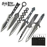 6 Piece Ridge Runner Lightning Throwing Knives