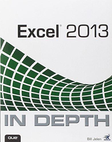 Excel 2013 In Depth