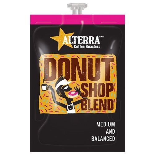 FLAVIA ALTERRA COFFEE, Donut Shop Blend, 20-Count Freshpacks (Pack of 1 Rail) (Flavia Coffee Brewers compare prices)