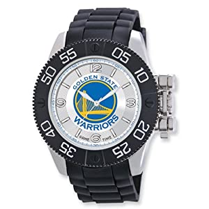 Mens NBA Golden State Warriors Beast Watch by Jewelry Adviser Nba Watches