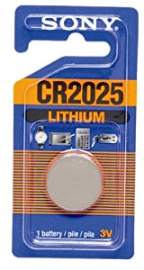 Sony CR2025 Lithium Coin Battery