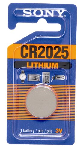 Sony Lithium Coin Battery CR2025