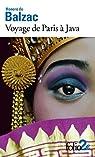 Voyage de Paris � Java / Un drame au bord de la mer par Balzac