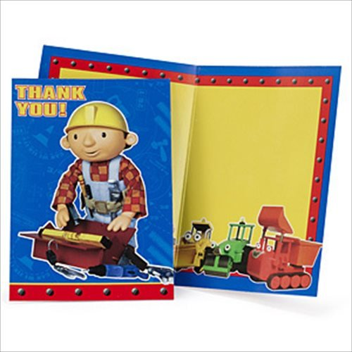 Bob the Builder Thank You Notes w/ Envelopes (8ct)