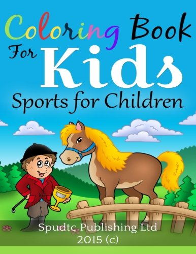 Coloring Book for Kids: Sports for Children