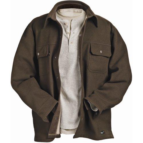 Dri-Duck Men's Flex Soft Shell Jacket (Field Khaki, Large)