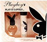 Play It Lovely by Playboy Eau de Toilette Spray 30ml & Perfumed Deodorant Spray 75ml