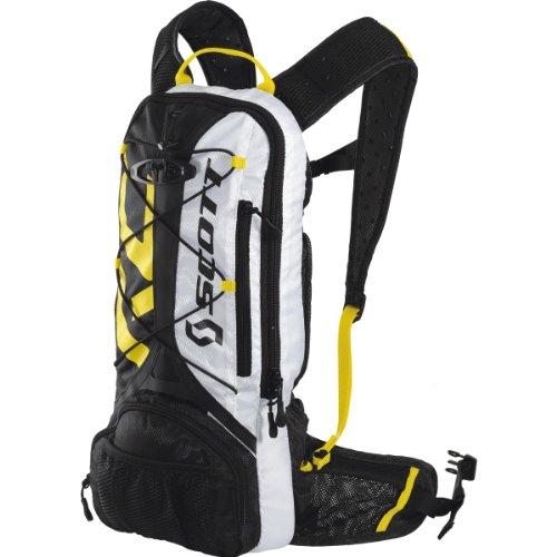 Scott Air Strike Hydro 4 Backpack - Black/RC Yellow, 43 x 18 x 5 cm