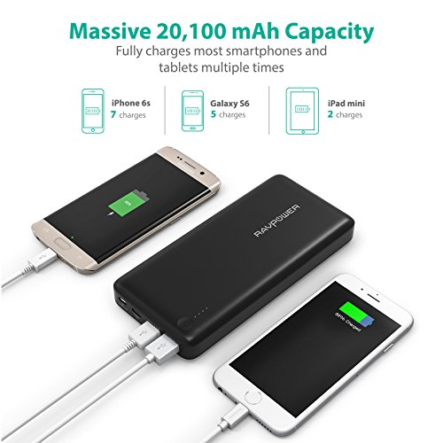 RAVPower-20100mAh-Power-Bank