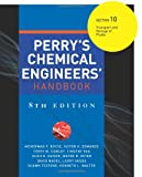 img - for Perry's Chemical Engineers' Handbook 8/E Section 10:Transport and Storage of Fluids book / textbook / text book