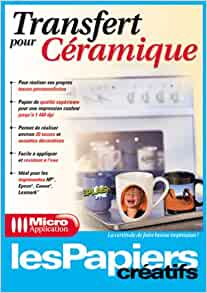 papier transfert ceramique: 9782742940837: Amazon.com: Books