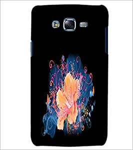 PrintDhaba Flower D-2153 Back Case Cover for SAMSUNG GALAXY ON 7 (Multi-Coloured)