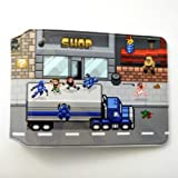 Retro Road Pixel Art Oyster Card Holder