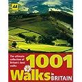 AA 1001 Walks in Britain (Walking Guide)