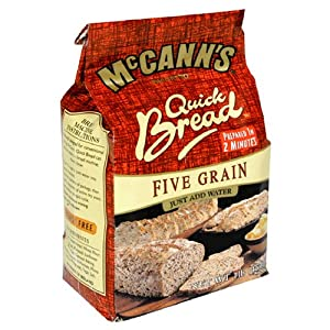 McCANN'S Quick Bread, Five Grain, 1-Pound Bags (Pack of 10)
