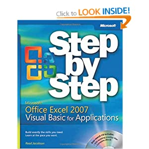 Microsoft Excel 2007 Visual Basic for Applications Step by Step Book/CD Package (BPG-step by Step)
