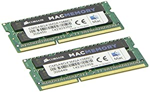 Corsair Apple Certified 4GB (1x4GB) DDR3 1066 MHz (PC3 8500) Laptop Memory 1.5V