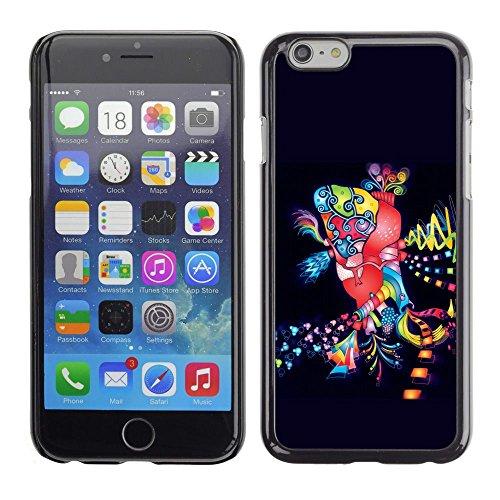 Stuss Case / Hard Protective Case Cover - Dance Disco Lights Colorful Art Party City - Apple Iphone (Party City Richardson)