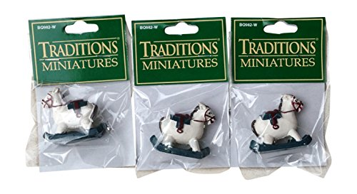 Traditions Miniature Rocking Horse (3 Pack) - 1
