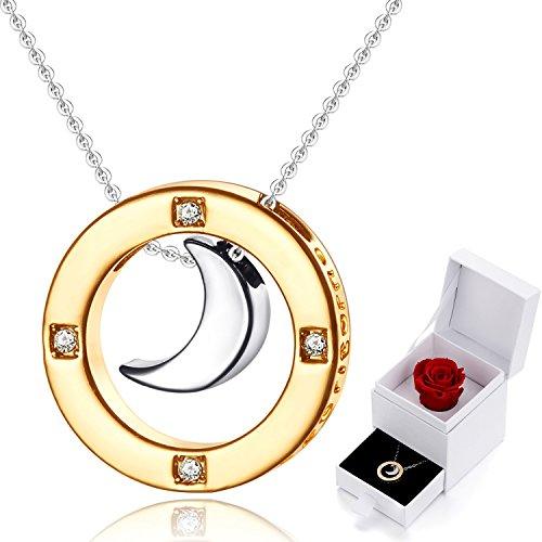 marenja-cristallo-regali-natale-collana-donna-incisione-ti-voglio-bene-fino-alla-luna-e-ritorno-plac