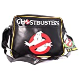 Ghostbusters Classic Logo Messenger Bag (Black)