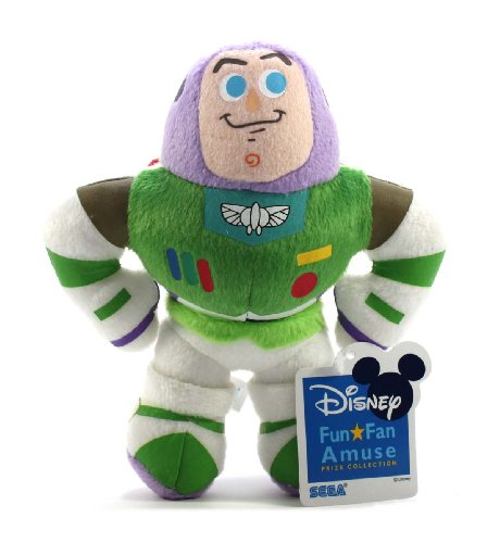 "Sega Official Disney Pixar Characters Plush - 6.5"" Buzz Lightyear - 1"