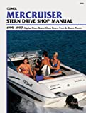 img - for MerCruiser Stern Drive Shop Manual: 1995-1997 Alpha One, Bravo One, Bravo Two & Bravo Three book / textbook / text book