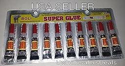 Super Glue - \'Cyanoacrylate Adhesive\' 20 Tubes - FREE SHIPPING