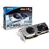 MSI AMD Radeon HD7950, 3GB 384-Bit GDDR5, Mini DisplayPort x2, DVI-I, HDMI, Boost Edition, PCI Express 3.0 Graphics Card   R7950 TF 3GD5 BE