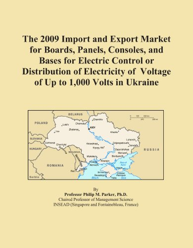 The 2009 Import And Export Market For Boards, Panels, Consoles, And Bases For Electric Control Or Distribution Of Electricity Of Voltage Of Up To 1,000 Volts In Ukraine