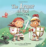 .com: Playset Full Armor Of God-6 Pc-Gry/Red (Boys): Toys & Games