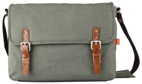 Toffee Fitzroy Satchel For Apple Macbook Pro-Retina-Air And Most Laptops Up To 13.3-Inch (Green)