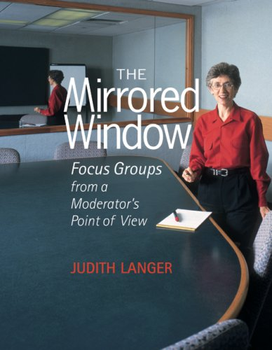 The Mirrored Window: Focus Groups from a Moderator's Point of View